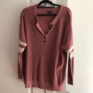 Mauve American Eagle Football Sweater for sale